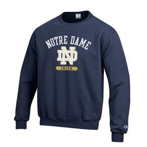 "University of Notre Dame ""Irish"" Crewneck Sweater"